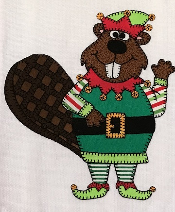 Ugly Sweater Beaver by Ms P Designs USA