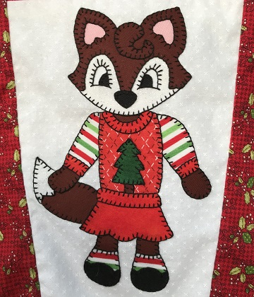 Ugly Sweater Fox by Ms P Designs USA