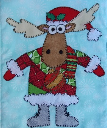 Ugly Sweater Moose by Ms P Designs USA