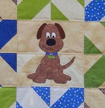 Big Puppy dog by Ms P Designs USA