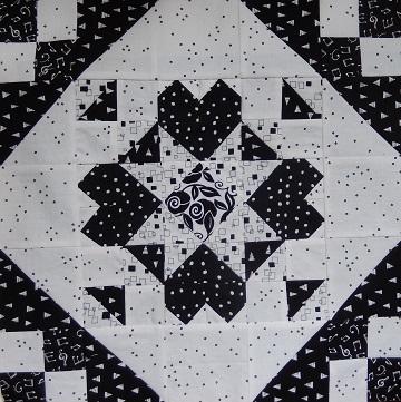 Cross My Heart Block by Ms P Designs USA