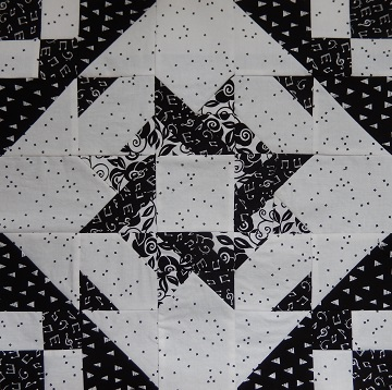 Entwined Star Variation by Ms P Designs USA