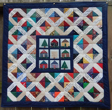 Family Reunion Quilt A by Ms P Designs USA