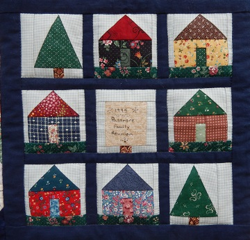 Family Reunion Quilt B by Ms P Designs USA