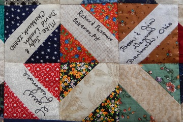 Family Reunion Quilt C by Ms P Designs USA