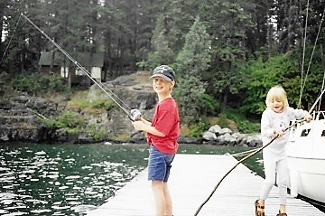Flathead Lake Fishing Ian