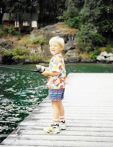 Flathead Lake Fishing Nathan