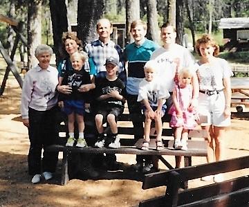 Gil Passmore Family 1995