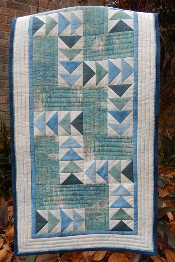 Goose Trails Table Runner by Ms P Designs USA