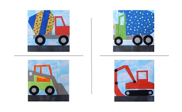 Construction Vehicles by Ms P Designs USA