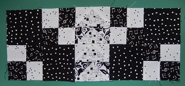 Wild Goose Chase Block outer row by Ms P Designs USA