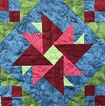Double Aster by Ms P Designs USA