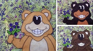 Huckleberry Bears by Ms P Designs USA