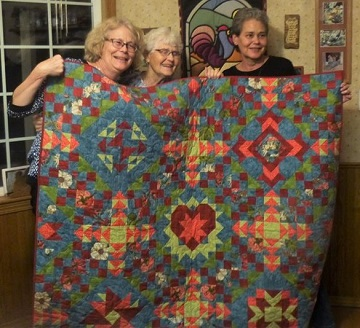 Mom's Quilt by Ms P Designs USA