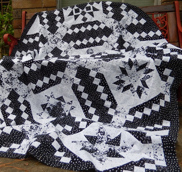 Black and White Delight by Ms P Designs USA