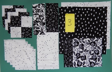 Block 3 Pieces by Ms P Designs USA