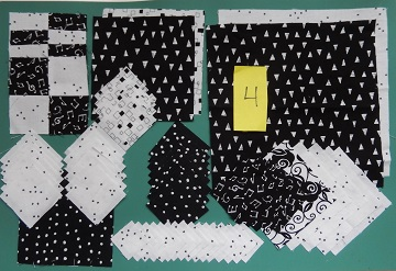 Block 4 Fabric by Ms P Designs USA