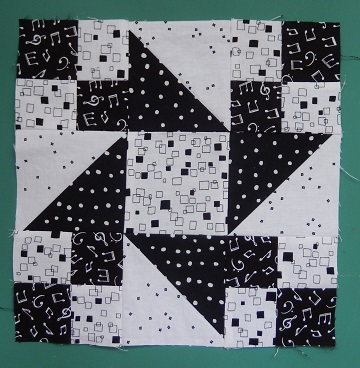 Friendship Star Center Block by Ms P Designs USA