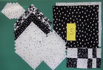 Block 5 Fabrics by Ms P Designs USA