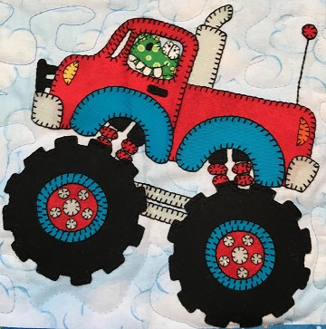 Dragon's Monster Truck by Ms P Designs USA