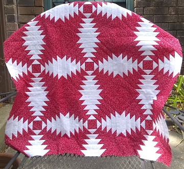 Pineapple quilt by Sharon @ Ms P Designs USA