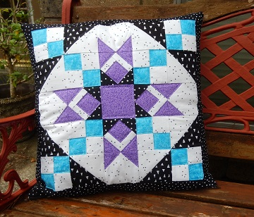 Granny's Star Pillow by Sharon @ Ms P Designs USA