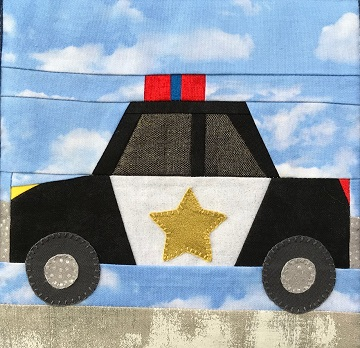 Police Cruiser by Ms P Designs USA