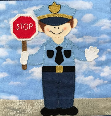 Traffic Officer by Ms P Designs USA