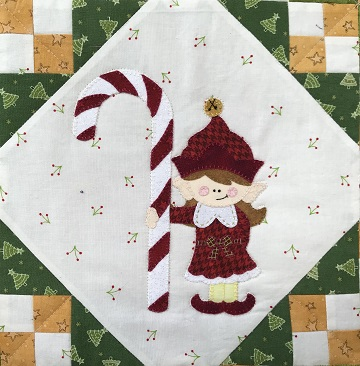 Candy the Elf by Ms P Designs USA