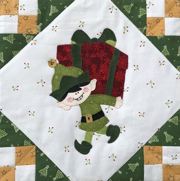 Gift Lifting Elf by Ms P Designs USA