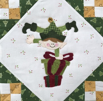 Handstand Elf by Ms P Designs USA