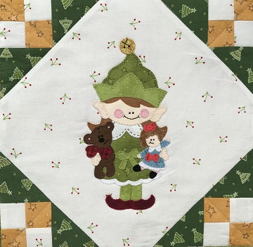 Jingle Bell Elf by Ms P Designs USA