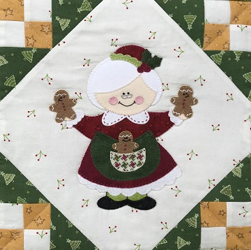 Mrs. Santa Claus by Ms P Designs USA
