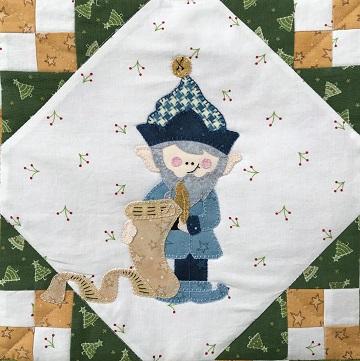 Nice List Elf by Ms P Designs USA