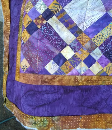 Quilting finish by Sharon @ Ms P Designs USA