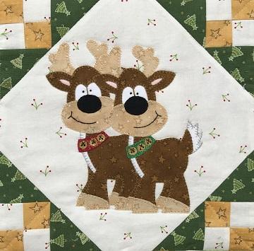 Santa's Reindeer by Ms P Designs USA