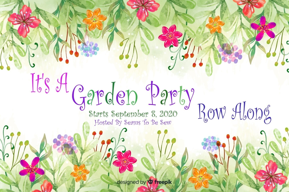 It's A Garden Party Row Along