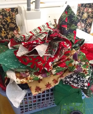Christmas Scrap Bin from Sharon @ Ms P Designs USA