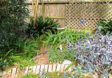 Corner Garden by Sharon @ Ms P Designs USA