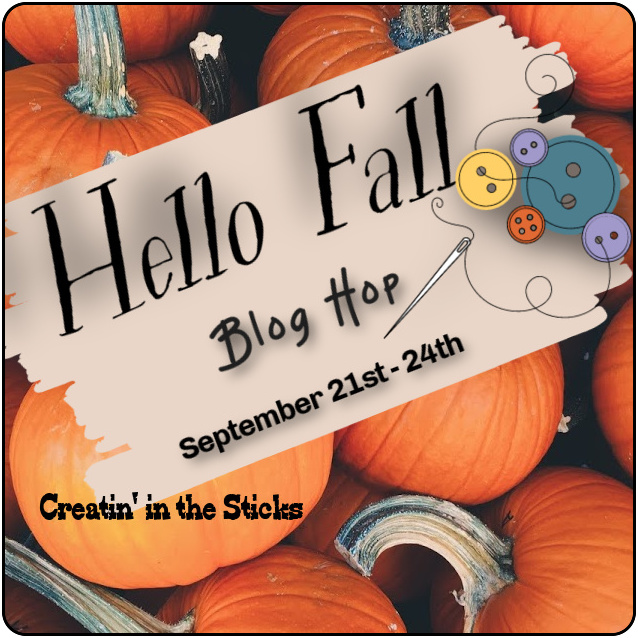 Hello Fall blog hop button official