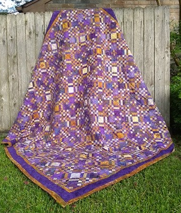 Purple and Butterscotch by Sharon @ Ms P Designs USA