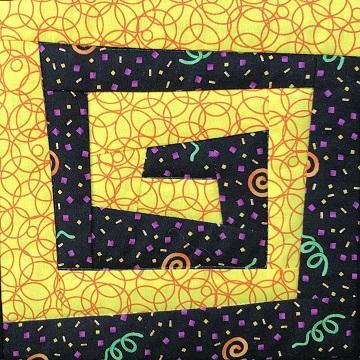 Wonky Spiral by Ms P Designs USA