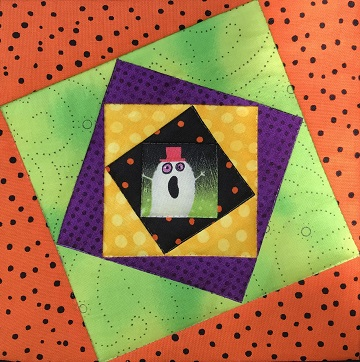 Wonky Square in Square by Ms P Designs USA