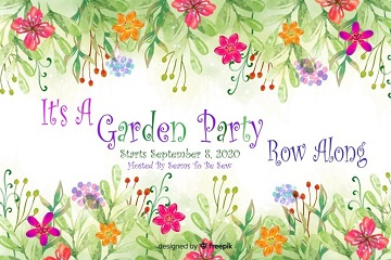 It's A Garden Party Row Along 2020