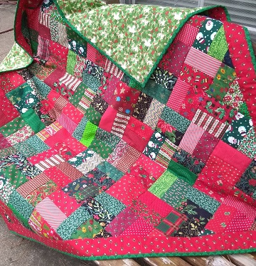 Christmas Quilt 2 by Sharon @ Ms P Designs USA
