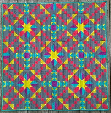 Corona Star Quilt by Ms P Designs USA