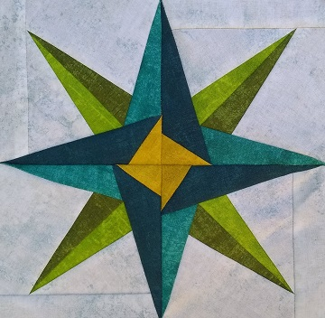 Mariner's Star by Ms P Designs USA
