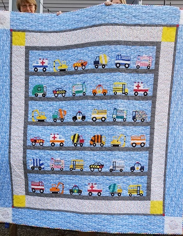 Barb W Vehicle Quilt Sept 2020