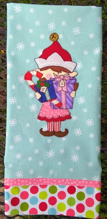Joy of Giving Tea Towel by Ms P Designs USA