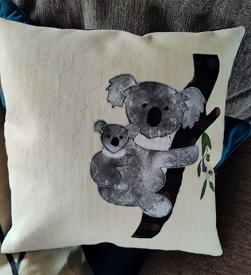 Koala Pillow by Sharon L